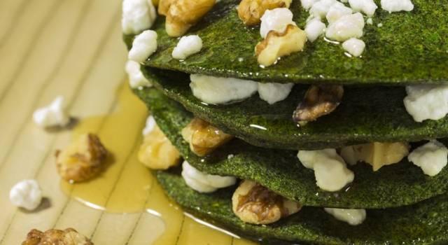Pancake di spinaci light e senza glutine: buonissimi!