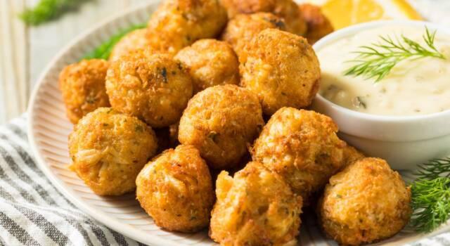 Polpettine di pesce senza glutine: la ricetta del secondo piatto