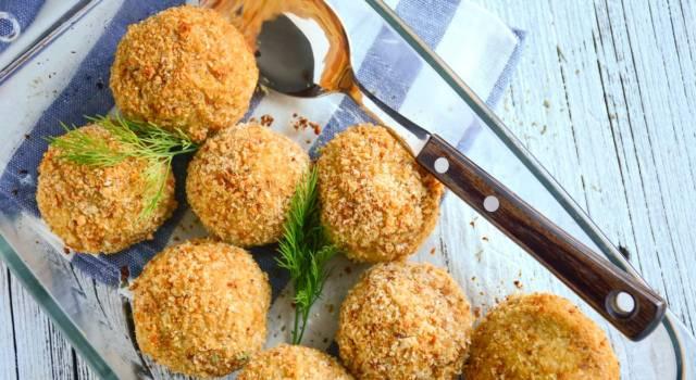 Una ricetta originale e golosa: ecco come fare le polpette di merluzzo