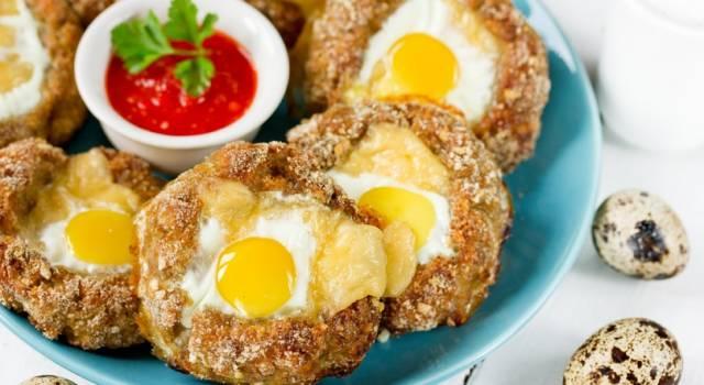 Uovo in camicia impanato e fritto: un'idea per un piatto diverso dal solito!