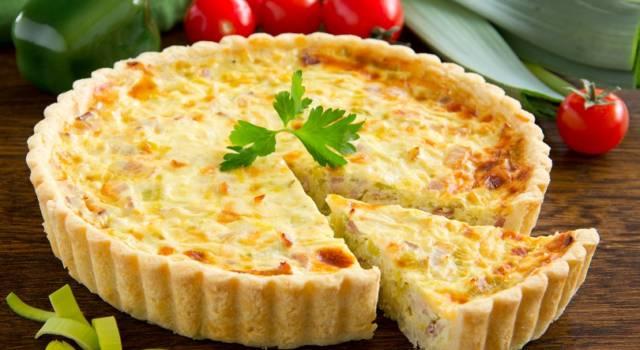 Quiche con pasta sfoglia e verdurine: una ricetta primaverile!