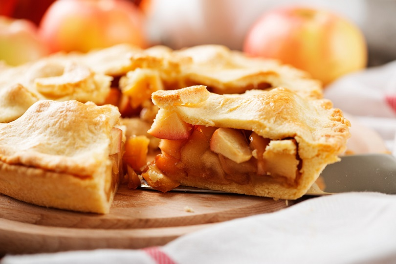 Apple pie vegan