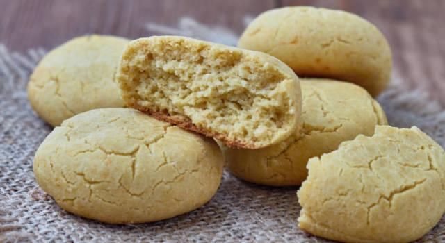 Fragranti biscottini con farina di mais (adatti anche ai celiaci!)