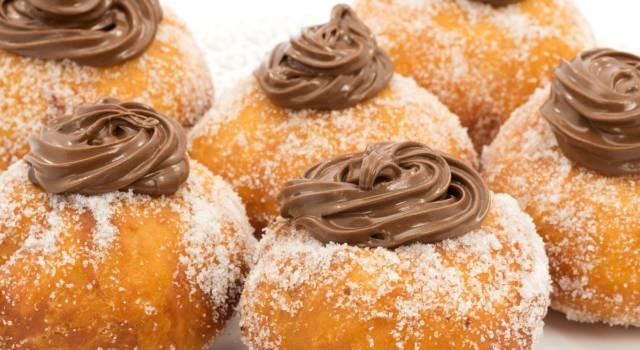 Bomboloni senza glutine alla Nutella: la ricetta di Carnevale