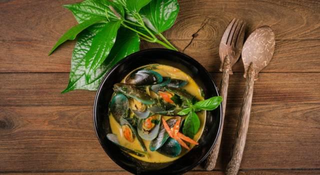 Cozze al curry: una ricetta… afrodisiaca