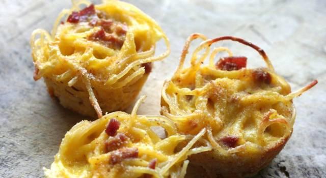 Frittata di pasta alla carbonara: il primo (senza glutine) che non ti aspetti!