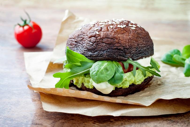 Funghi portobello burger