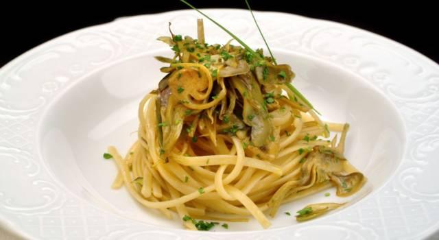 Pasta con carciofi e bottarga di muggine: la ricetta del primo piatto saporito!