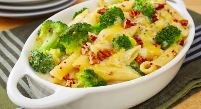 Pasta con broccoli gratinati al forno: ecco la ricetta!