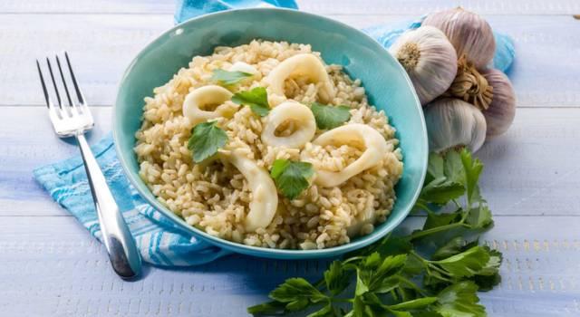 Risotto ai calamari profumato al mojito: una delizia