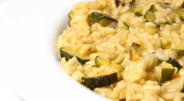Risotto con zucchine: un primo piatto davvero delizioso!