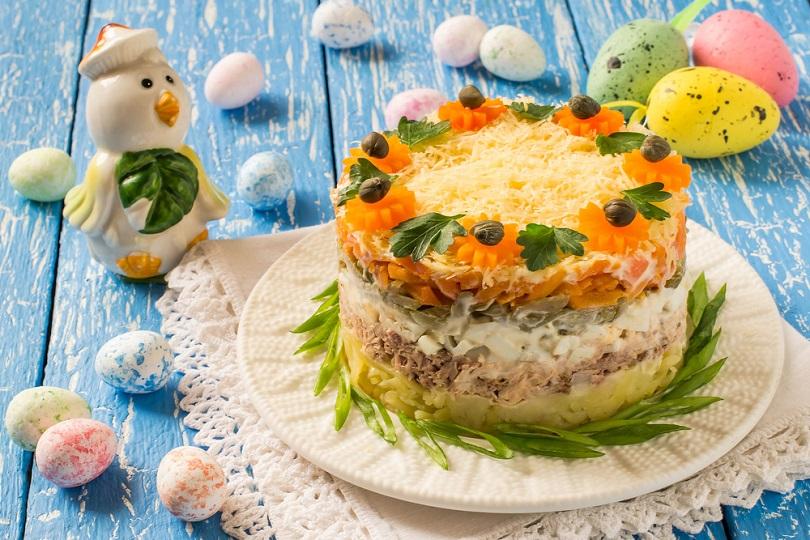 Tortino di insalata capricciosa