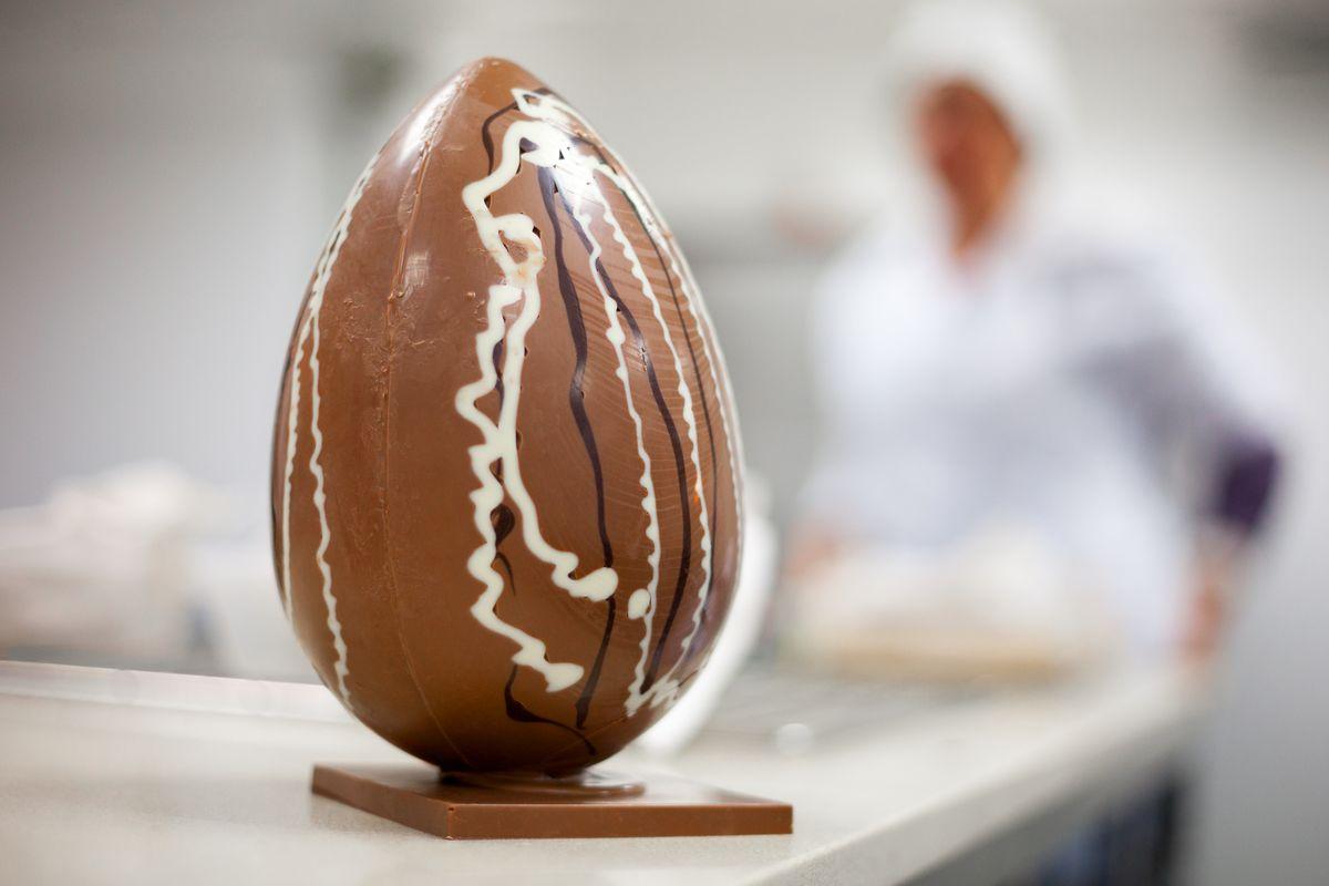 uova di Pasqua di cioccolato