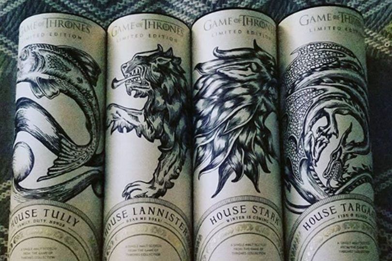 Whisky di Game of Thrones