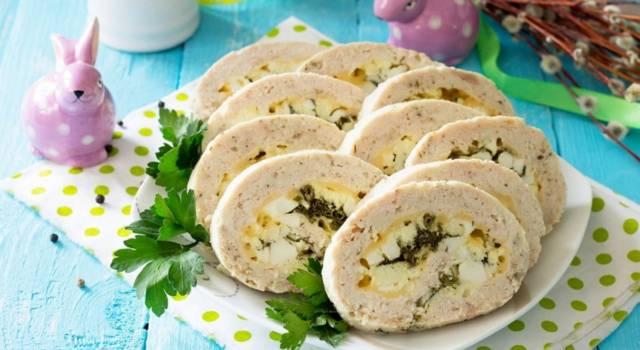 Polpettone di tonno ripieno di spinaci e mozzarella: ottimo per la cena!