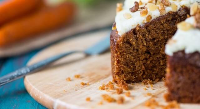 Deliziosa torta di carote senza glutine