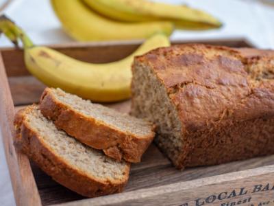 Banana bread senza glutine: delizioso per la merenda