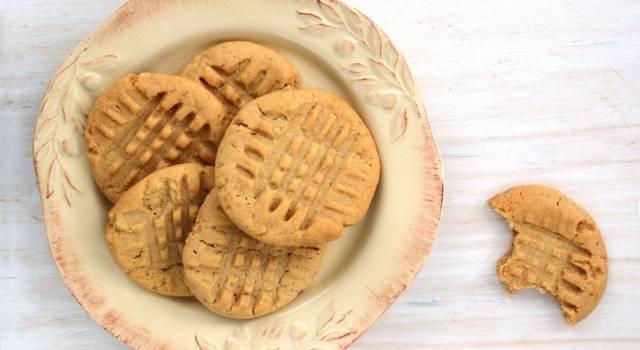 Come fare biscotti con farina di ceci (senza uova e burro)