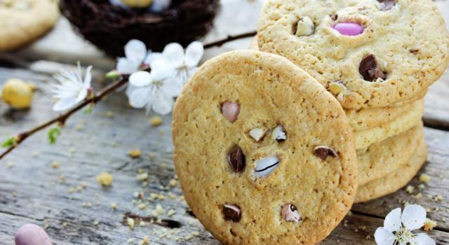 Deliziosi biscotti di Pasqua senza burro