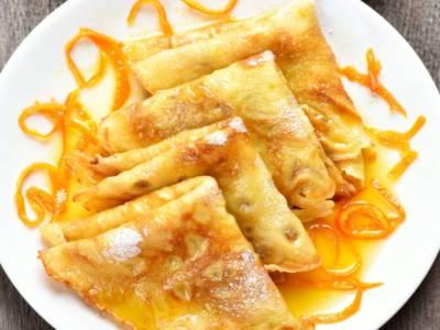 Crepes suzette: la ricetta flambé al Grand Marnier