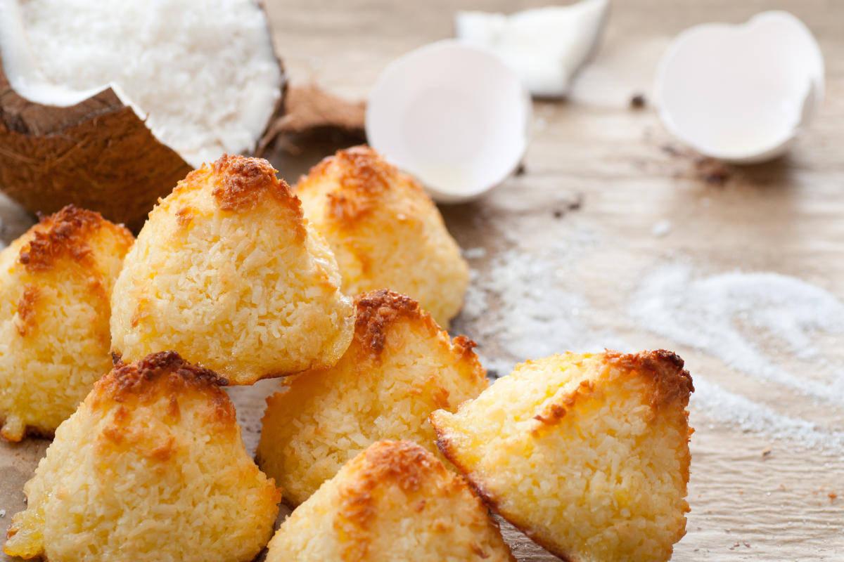 Dolcetti al cocco senza glutine