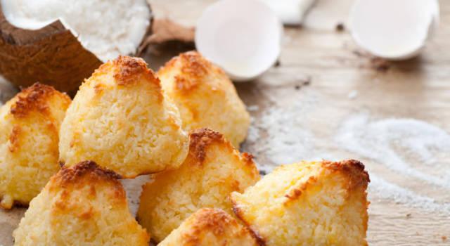 Deliziosi dolcetti al cocco senza glutine: guardate che belli (e che buoni!)