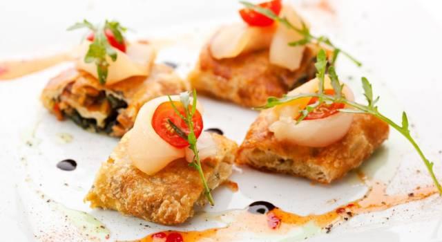 Involtini di pasta sfoglia con verdure: perfetti come antipasto!