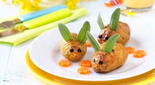Patate al forno dorate e croccanti: una ricetta simpaticissima!