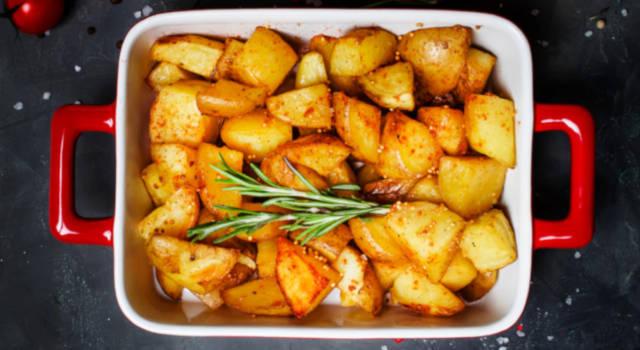Le patate al forno perfette