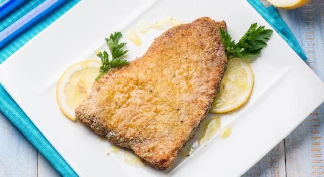 Pesce spada impanato e gratinato al forno: un buonissimo secondo piatto!