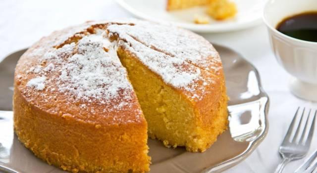 Come preparare una sofficissima torta paradiso senza glutine