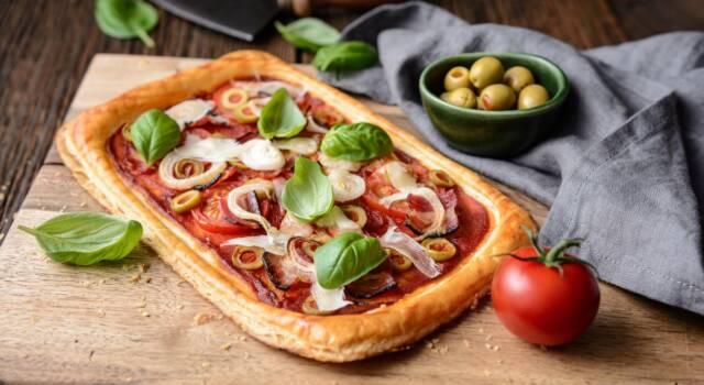 Torta salata con pomodorini e ricotta: facile e buonissima!