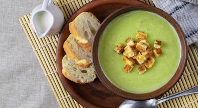 Vellutata di zucchine, una ricetta cremosa e saporita