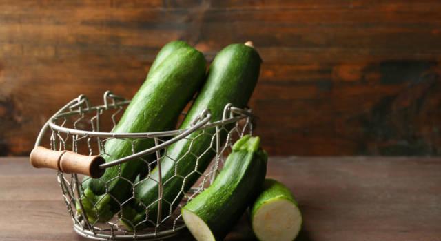 Come conservare le zucchine? Basta congelarle (cotte o crude)
