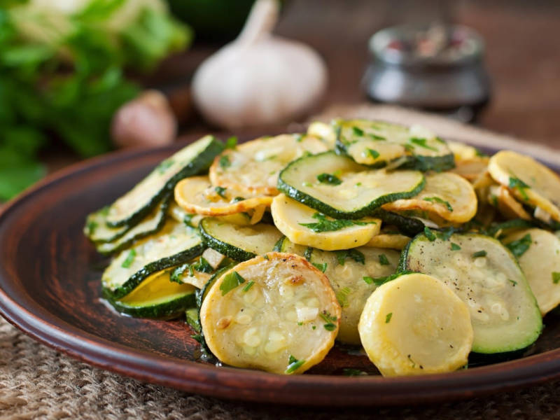 Zucchine trifolate, un contorno light
