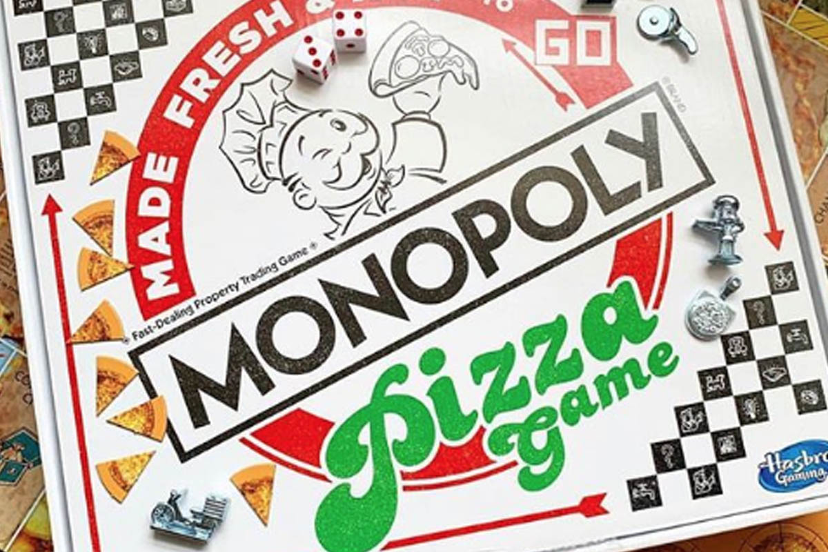 Monopoly pizza