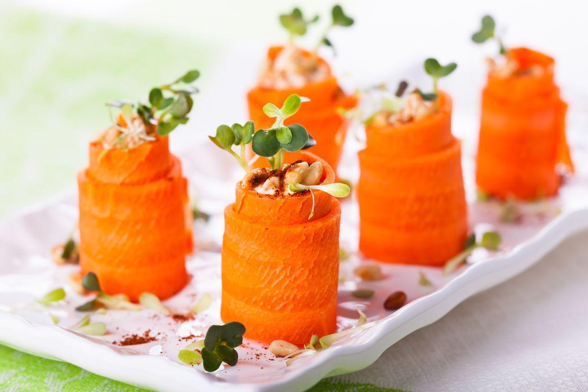 involtini di carote