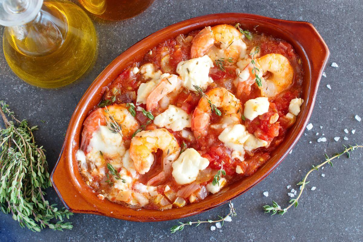 Gamberi al guazzetto piccante: ingredienti e ricetta