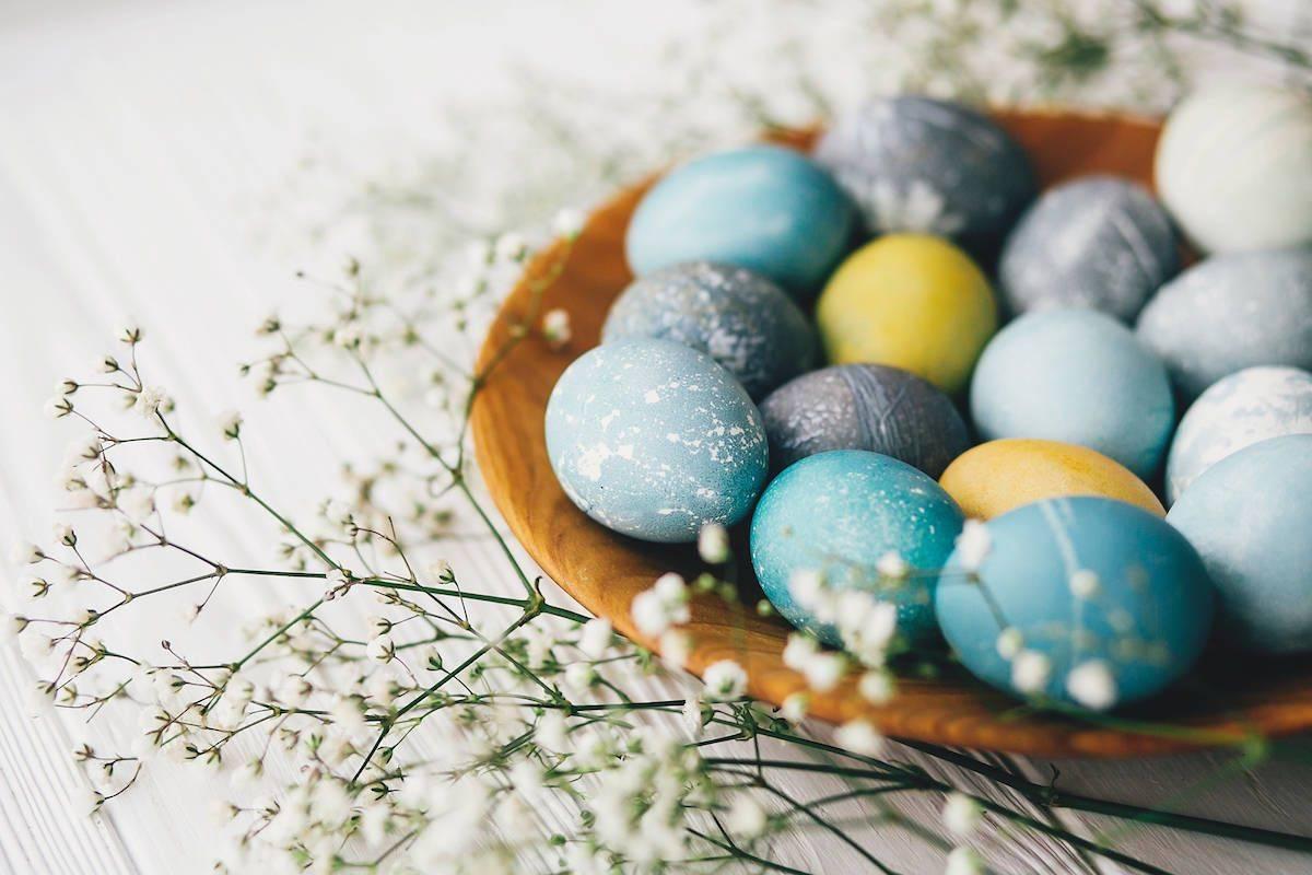 Uova marmorizzate