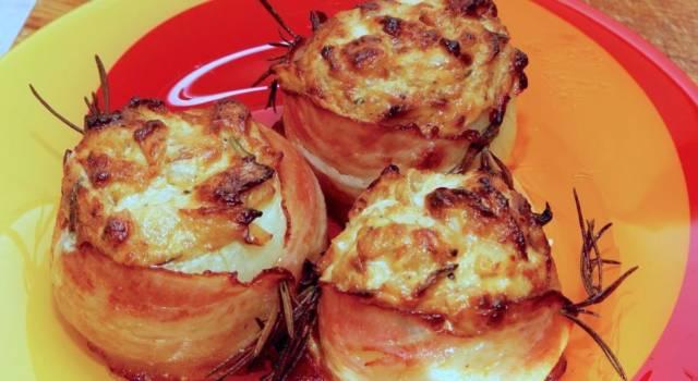 Cipolle in crosta di pancetta: un contorno sfizioso, da leccarsi i baffi!