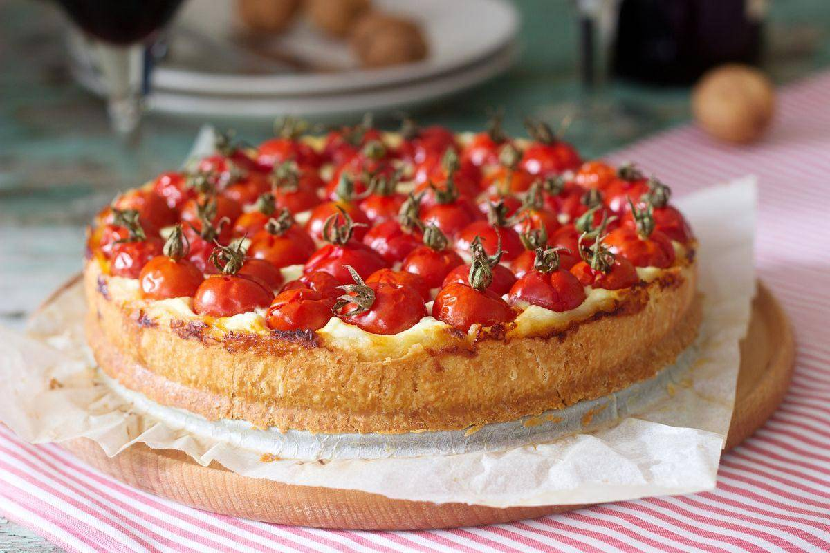 Crostata salata senza glutine