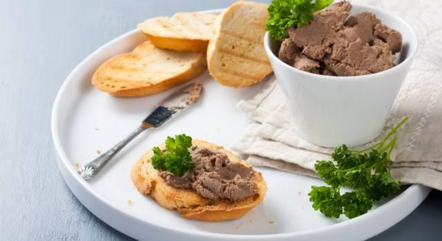 Crostini toscani: la ricetta con i fegatini