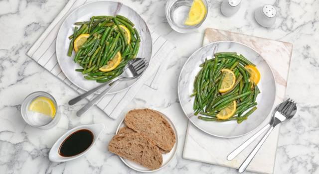 Ricetta del contorno di fagiolini al burro e limone: buonissimi!
