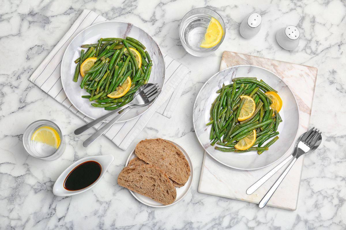 Fagiolini in umido con limone