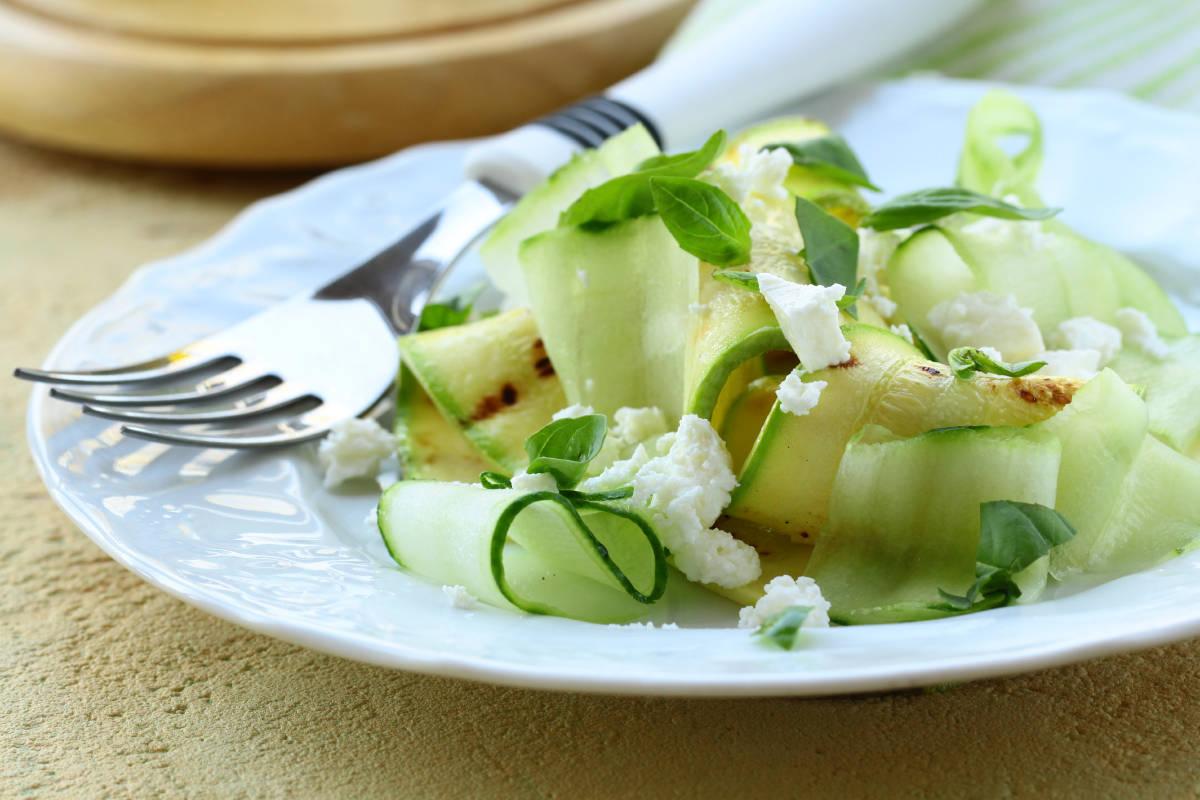 insalata di zucchine