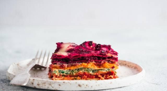 Sfiziose lasagne di verdure ai 5 colori: spettacolari!