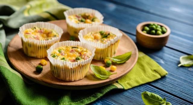 Muffin salati ai piselli: perfetti per un aperitivo o un buffet da re!