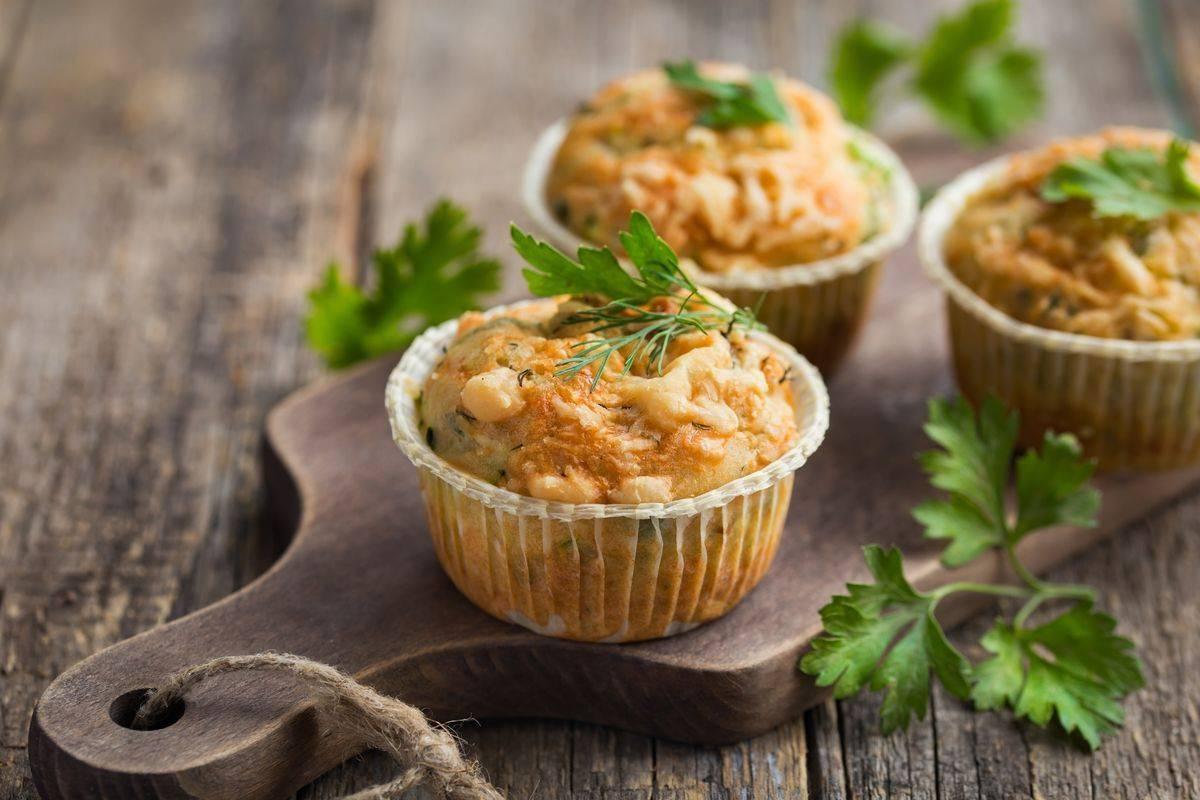 Muffin alle zucchine senza uova