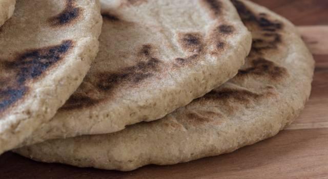 Pane azzimo integrale, super leggero e digeribile