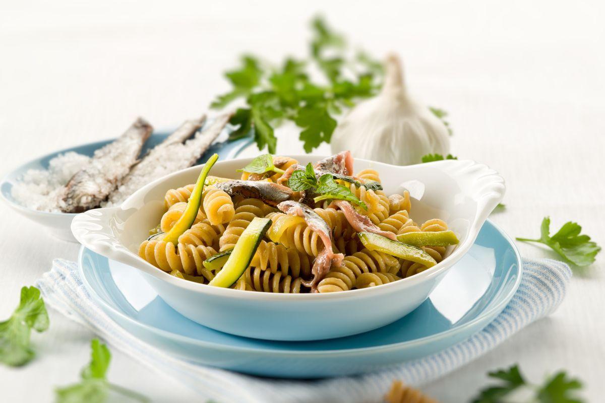 pasta zucchine e alici